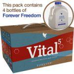 Zestaw silnie regenerujący Vital5  z Forever Freedom