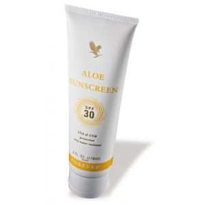 Aloesowa emulsja do opalania z filtrem UV Aloe Sunscreen