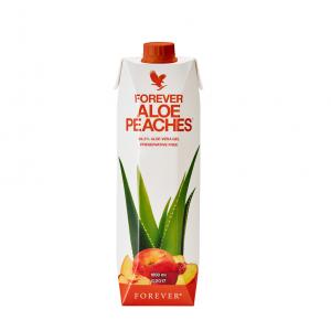Miąższ Aloe Vera z Brzoskwiniami Forever Aloe Peaches