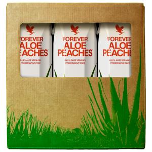 Forever Aloe Peaches Trójpak