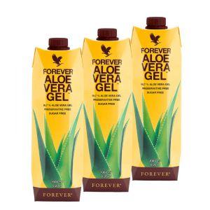 Forever Aloe Vera Gel Trójpak