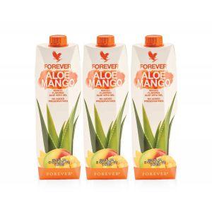 Trójapk Forever Aloe Mango