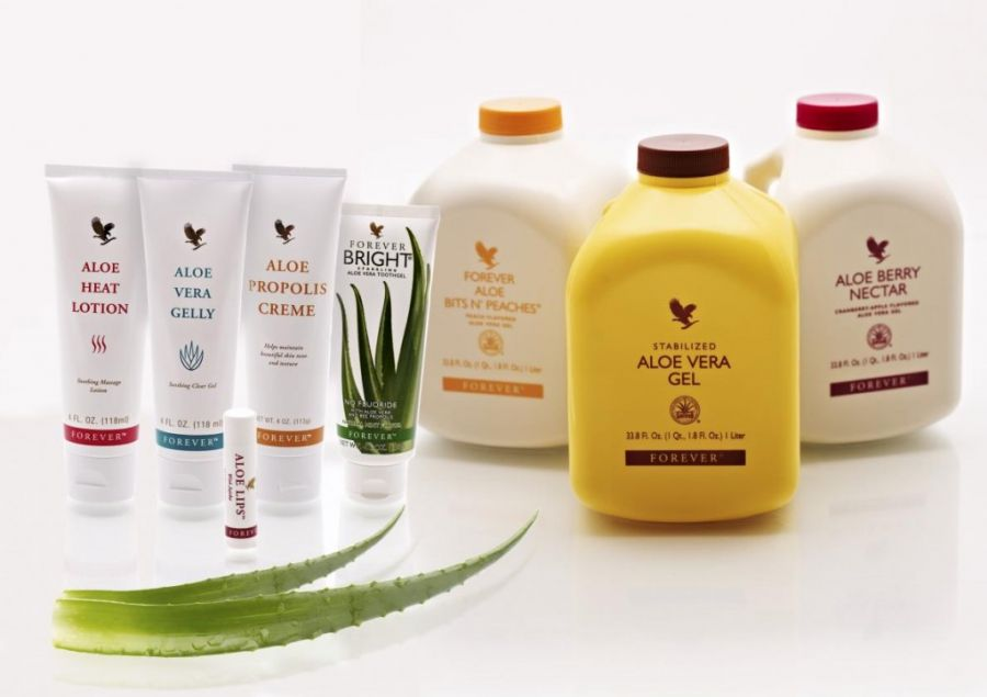 aloesowe produkty forever living products